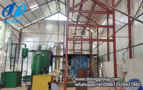 1tpd palm oil processing plant project is installing in Nigeria