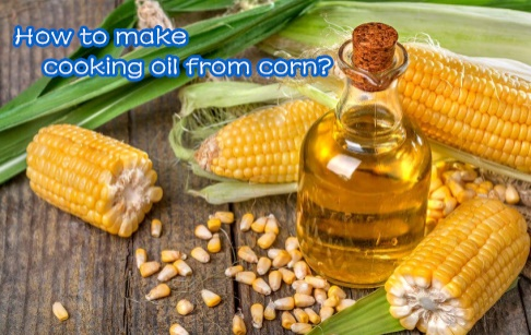 How to make cooking oil from corn in factory?