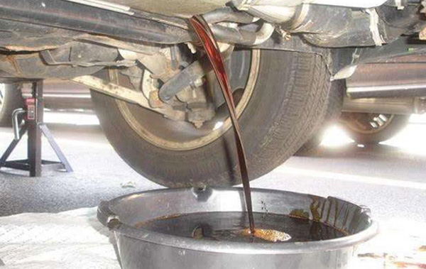 motor oil to diesel plant
