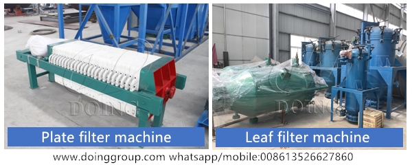 sunflower oil filter machine