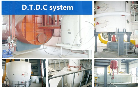 D.T.D.C system in cooking oil solvent extraction plant