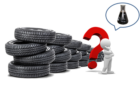 Can waste tyres be recycled?