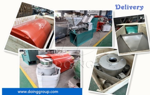 2tpd groundnut oil press machine ordered by Nigerian customer are ready to be shipped