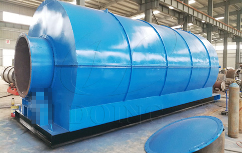 What are the advantages of DOING plastic pyrolysis reactor design?