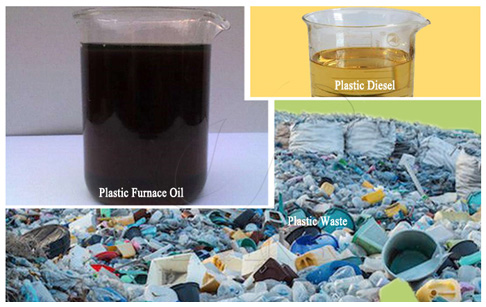 How to produce fuel substitutes by pyrolysis of plastic waste?