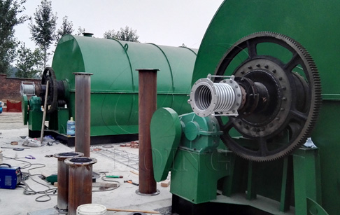 Waste Plastic Recycling to Fuel Oil Machine