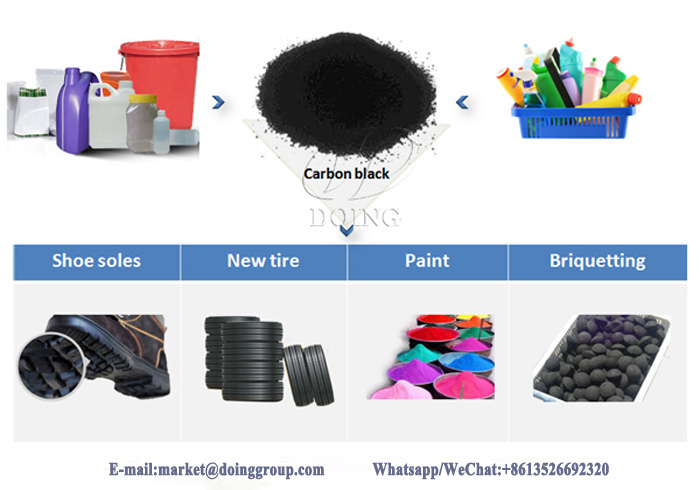 plastic recycling to fuel oil machine
