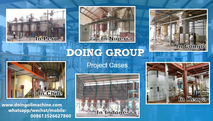 palm oil refinery project
