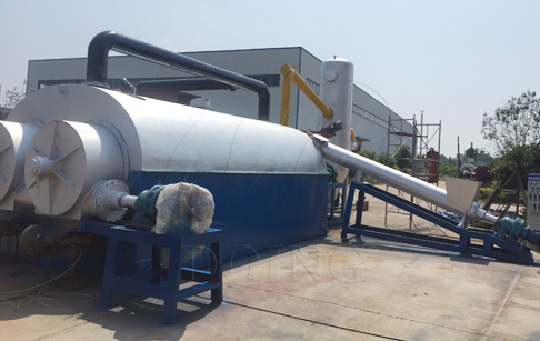 How can continuous tyre pyrolysis plant achieve safety and environmental protect...
