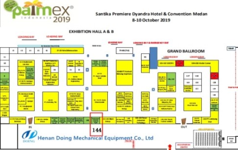 Doing Company welcome you to attend Palmex Indonesia 2019 Expo
