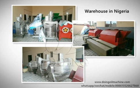 Doing Company's Nigeria Branch and warehouse was officially established