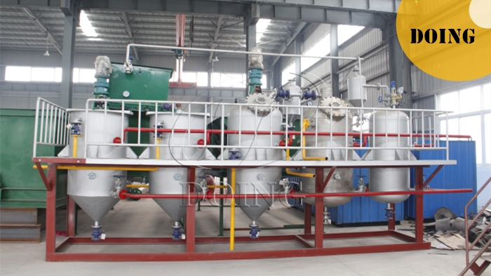 small cooking refining machine