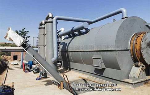 Can the second hand old tyre pyrolysis plant be purchased?