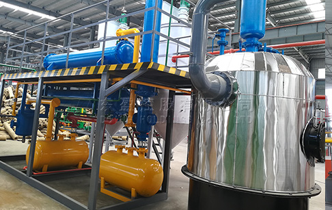 What is the price of waste oil distillation machine?
