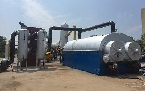 Continuous Oil Sludge Pyrolysis Plant