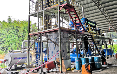 Waste Engine Oil Distillation Machine