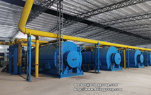 What is pyrolysis plant and what are the applications of pyrolysis plant?