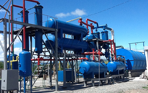 What's the cost of turn key tyre pyrolysis plant?