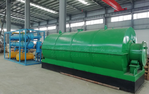 What is the tyre pyrolysis plant price of 1 ton to 5 ton?
