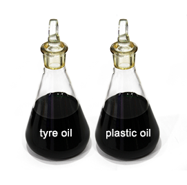 tire oil and plastic oil